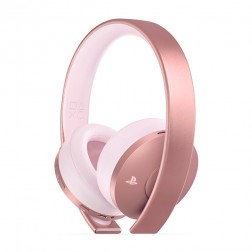 Auriculares Diadema Sony Ps4 Rose Gold Wireless