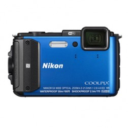 Camara Fotos Nikon Coolpix Aw130 Outdoor 16mp Azul