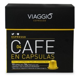 Cafe Viaggio Espresso Espresso 10 Unidades