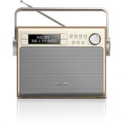 Radio Digital Philips Ae5020 Pilas/Red