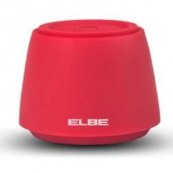 Altavoz Portatil Elbe Alt002 Bluetooth Rojo