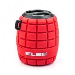 Altavoz Elbe Alt-44wr-Bt Bluetooth Rojo Splashprof