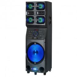 Mini Cadena Portatil Sakkyo Apm1012 Xxl Bateria Recargable 800w Karaoke Blu