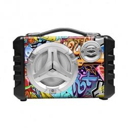Mini Cadena Portatil Sakkyo Apm70 Bateria Recargable 5w Rms Karaoke Bluetoo