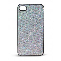 Carcasa Ksix Bling Iphone 4 Plata