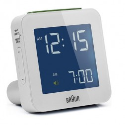 Relloj Despertador Braun Bnc009wh Digital Blanco