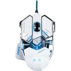 Raton Gaming Bluestork Bs-Gm-Kult4 Blanco Iluminad