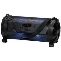 Altavoz Port. Denver Btl-300 Bluetooth Luz Azul