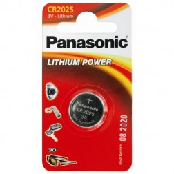 Pila Litio Panasonic Cr-2025/1bp ( 1-Blister ) 3v