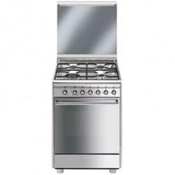Cocina Gas Semg Cx60sv9 4f 60cm Inox Horno Elect