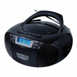 Radio Cd Sunstech Cxum53bk Usb Mp3 Negra