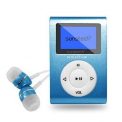 Mp3 4gb Sunstech Dedaloiii Azul