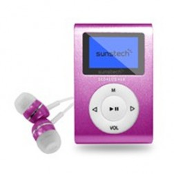 Mp3 4gb Sunstech Dedaloiii Rosa