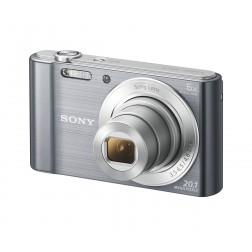 Camara Fotos Sony Dscw810s Plata 20.1mp 27.1m