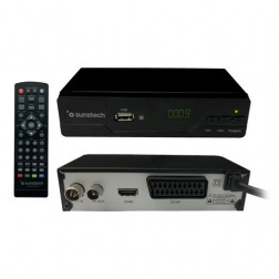 Tdt Sunstech Dtb210hd2 Dvb-T2 Usb Hdmi