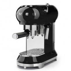 Cafetera Express Smeg Ecf01bleu Negra