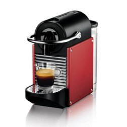 Cafetera Nespresso Delonghi En125r Pixie Roja