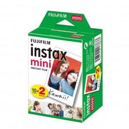 Pack película Fujifilm Instax Mini (10 hojas + 10 hojas)