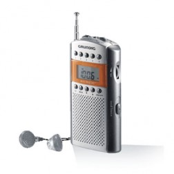 Radio Portatil Grundig Grr2090 Mini62 Cromo/Silver