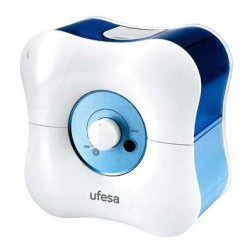 Humidificador Ufesa Hf3000 1.7l 30w Blanco/Azul