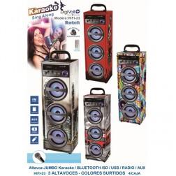 Altavoz Karaoke + Bluetooth Digivolt Hifi-23 Londo
