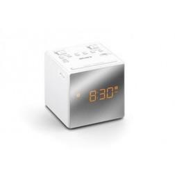 Radio Reloj Sony Icfc1tw.Ced 2 Alarmas Blanco