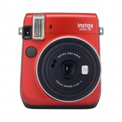 Cámara fotos instantánea Fujifilm Instax Mini 70 roja
