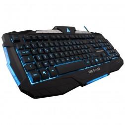Teclat Gaming Bluestork Keyz200-N/Sp Iluminado Negro