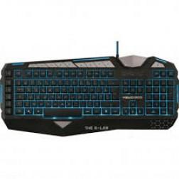 Teclado Bluestork Keyz300sp Gaming Negro Luz Azul