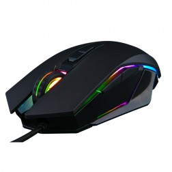 Raton Gaming The G-Lab Kult-Radium Iluminado 4800dpi Negro