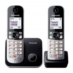 Telefono Inal Panasonic Kx-Tg6852spb Duo Negro Bloqueo Llamadas Automatico