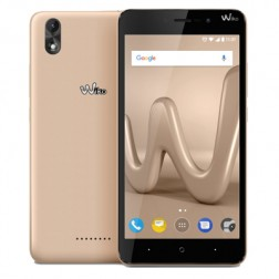 "Mobil Wiko Lenny4 Plus 5.5"""" Quad Core 1.3 16gb Or"
