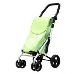 Carro Compra Carlett Lett440-4 Verde 4 Ruedas
