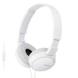 Auricular Diadema Sony Mdr-Zx110apw C/Micro Blanco