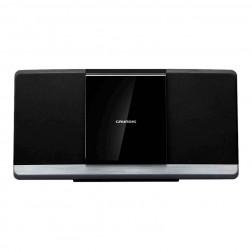 Micro Cadena Grundig Mf2000bt Bluetooth Cd-Mp3 Usb Inox/Negra