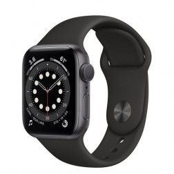 Apple Watch Series 6 Gps 40mm Space Grey Correa Negra