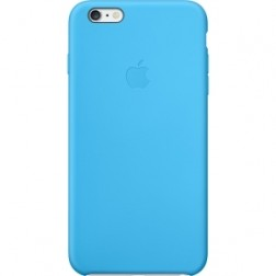 Funda Apple Iphone 6 Plus Case Silicona Azul