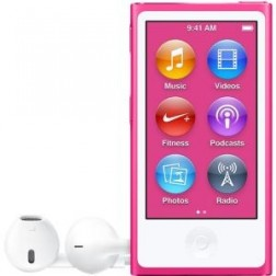 Ipod Nano 16gb Apple Pink New Edition