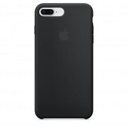 Funda Apple Iphone 8 Plus / 7 Plus Silicona Negra