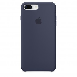 Funda Apple Iphone 8 Plus / 7 Plus Silicona Azul Noche