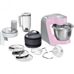 Robot Cocina Bosch Mum58k20 Rosa 1000w