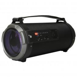 Altavoz Portatil Sunstech Muscle Capsule Bluetooth Usb Negro