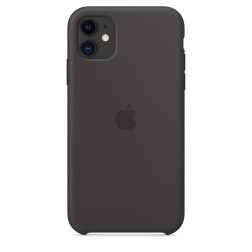 Funda Apple Iphone 11 Silicona Negra