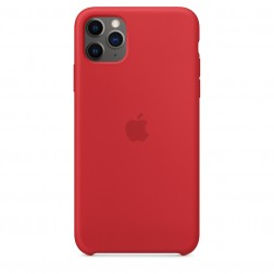 Funda Apple Iphone 11 Pro Max Silicona (Product) Roja