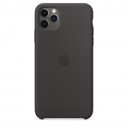 Funda Apple Iphone 11 Pro Max Silicona Negra