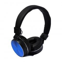 Auriculares Diadema Myo My4031a Bluetooth Radio Fm Con Microfono Azul
