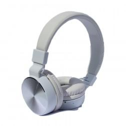 Auriculares Diadema Myo My4031pt Bluetooth Radio Fm Con Microfono Plata