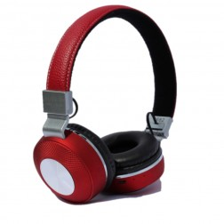 Auriculares Diadema Myo My4032r Bluetooth Rojo