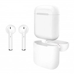 Auriculares Boton Myo My4046b  Bluetooth Blanco