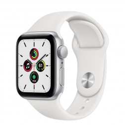 Apple Watch Se Gps 40mm Silver Correa Blanca